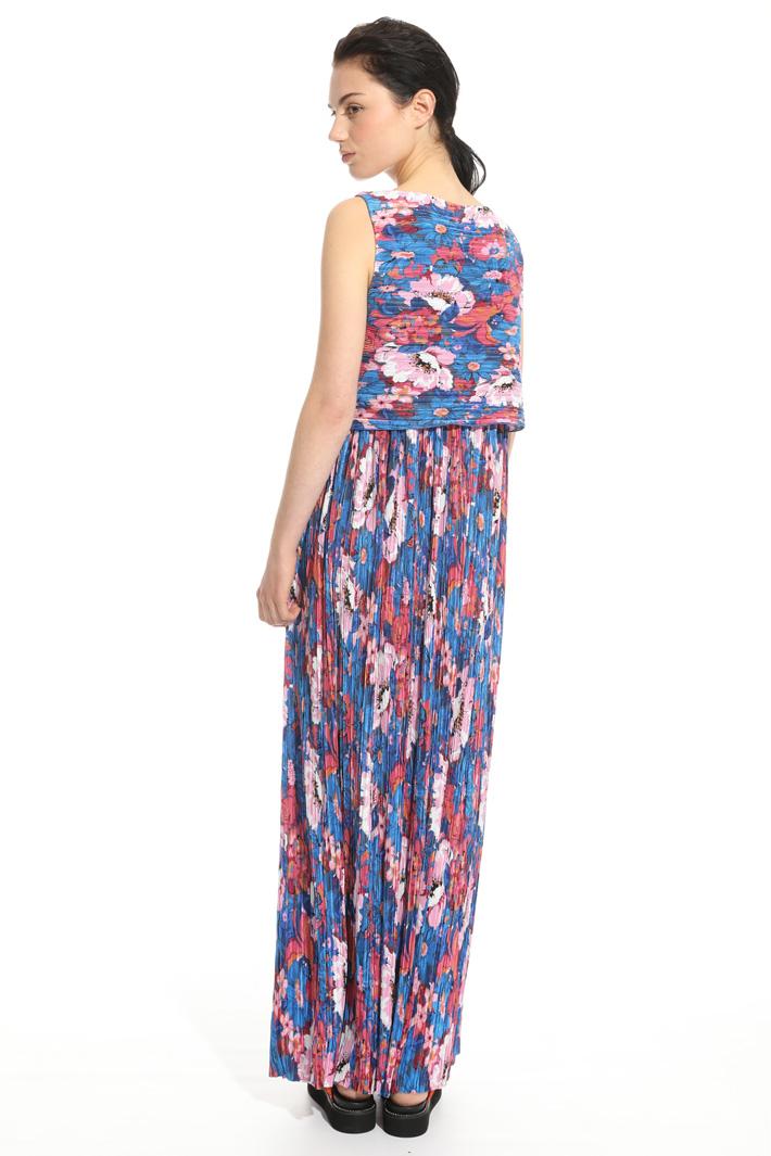 Jersey plissé dress Intrend