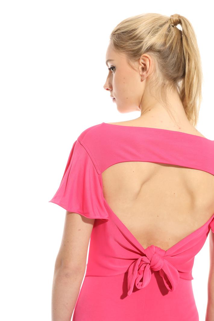 Jersey interlock dress Intrend