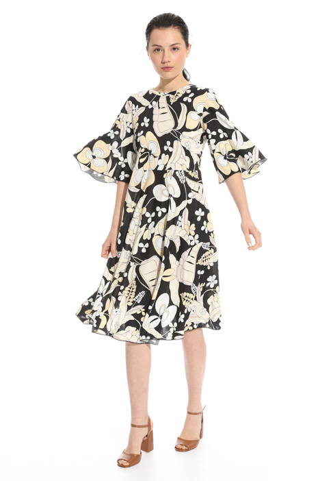Butterfly sleeve dress Intrend