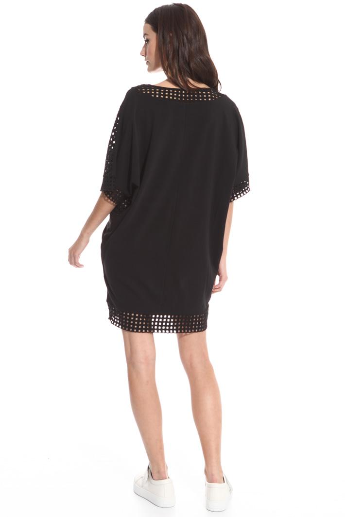 Egg-shape mini dress Intrend