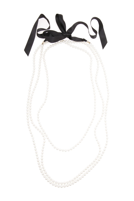 Long necklace with pearls  Intrend