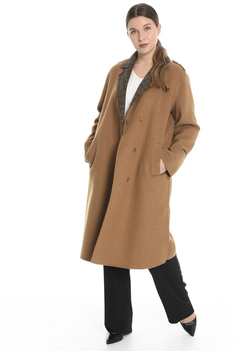 Double wool blend coat Intrend