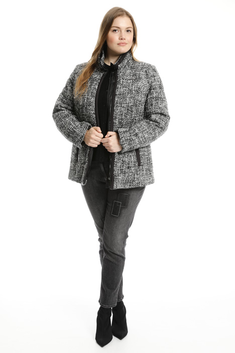 Boucle padded jacket Intrend