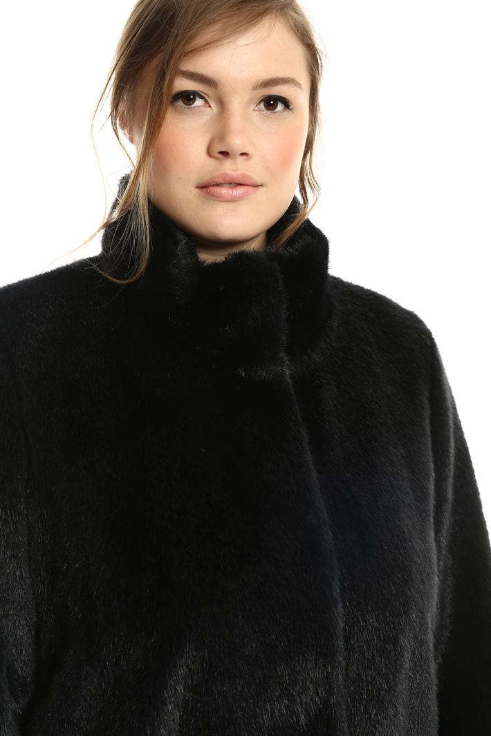 Giaccone effetto pelliccia Intrend