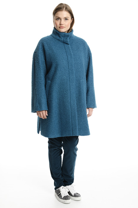 Bouclé coat Intrend
