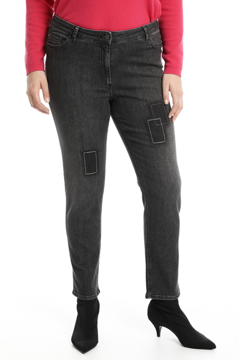 Stitched skinny jeans Intrend