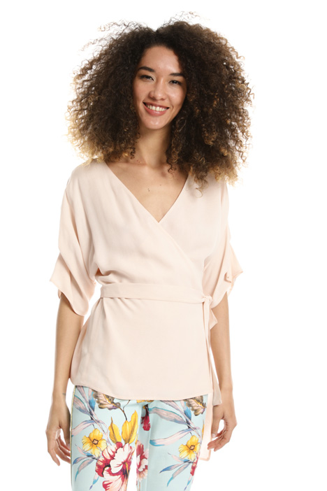 Georgette wrap top Intrend
