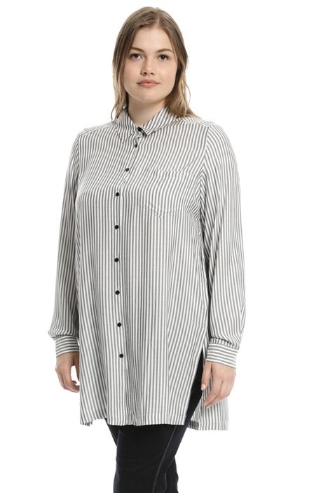 Long viscose shirt Intrend