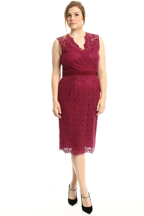 Scalloped lace dress  Intrend