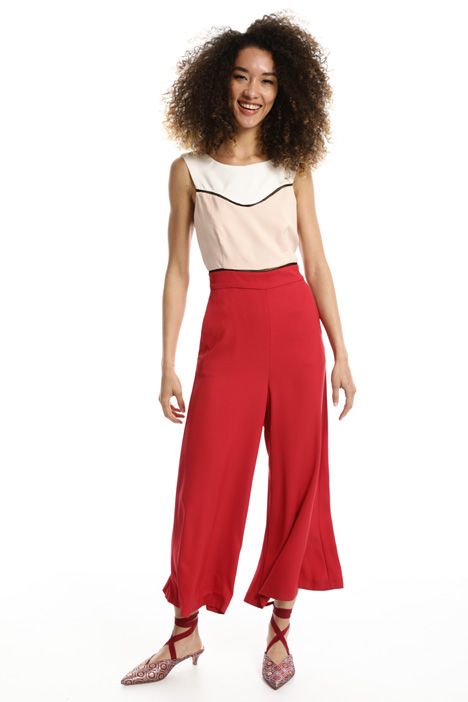 Stretch cady jumpsuit Intrend