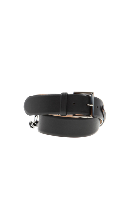 Calf leather belt Intrend