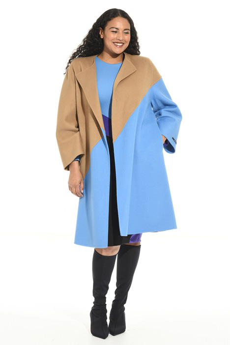 Cappotto in double di pura lana Intrend