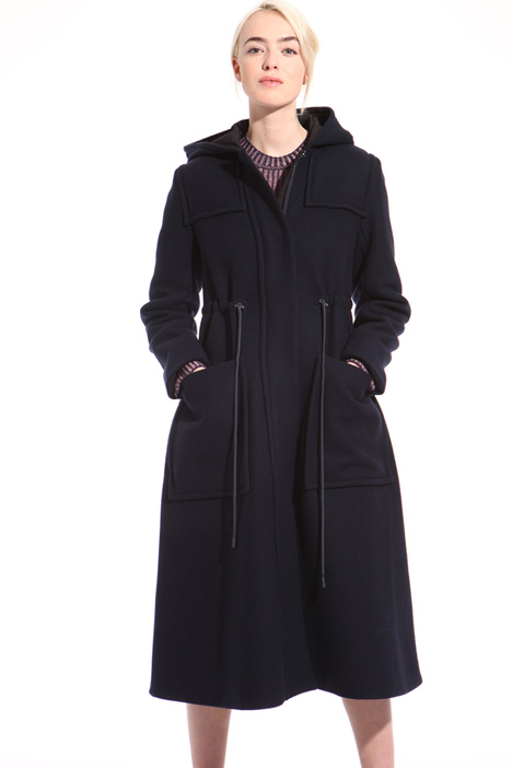 Wool and cashmere parka Intrend