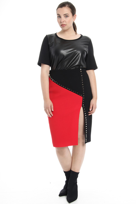 Studded wool skirt Intrend