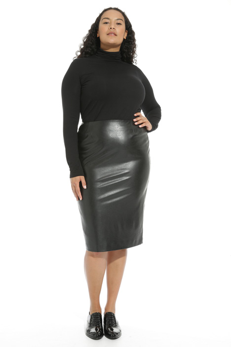 Leather effect skirt Intrend