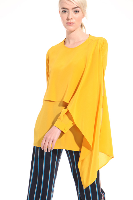 Overlay panel blouse Intrend