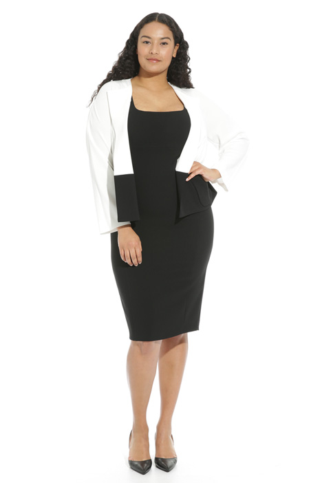 Two-tone triacetate jacket Intrend