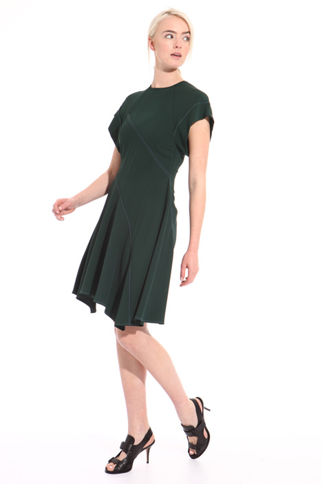 Flounced hem dress Intrend