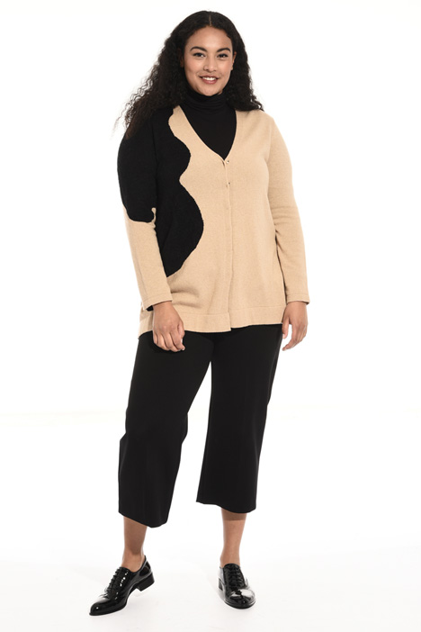 Viscose and cashmere cardigan Intrend