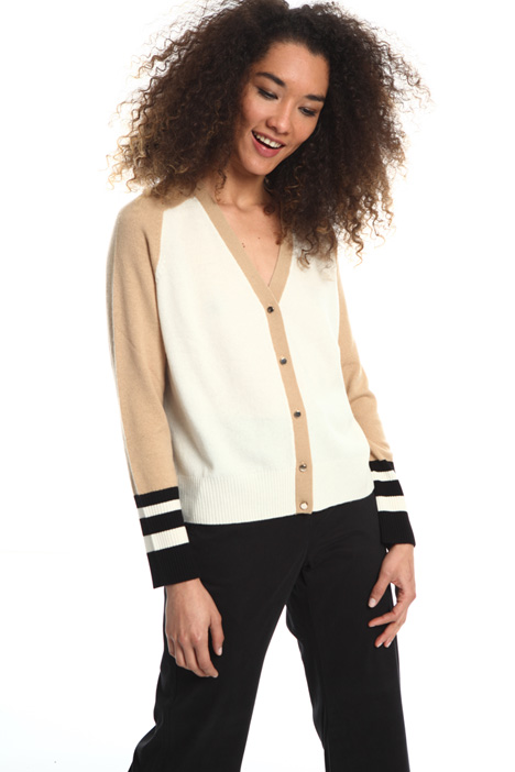 Wool and cashmere cardigan Intrend