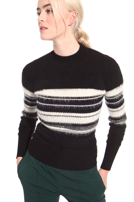 Maglia in lana mohair Intrend