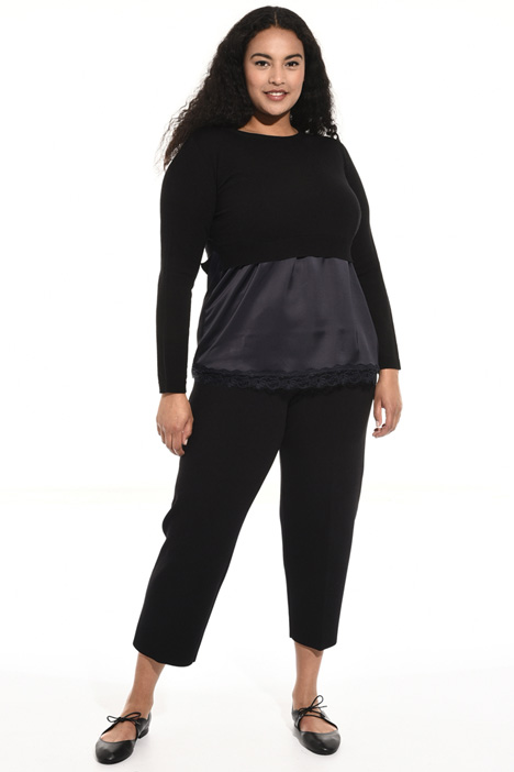 Cropped wool sweater Intrend
