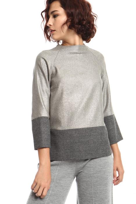 Lurex fabric tunic Intrend