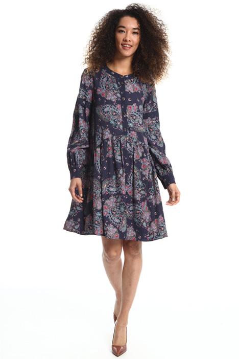 Short viscose dress Intrend