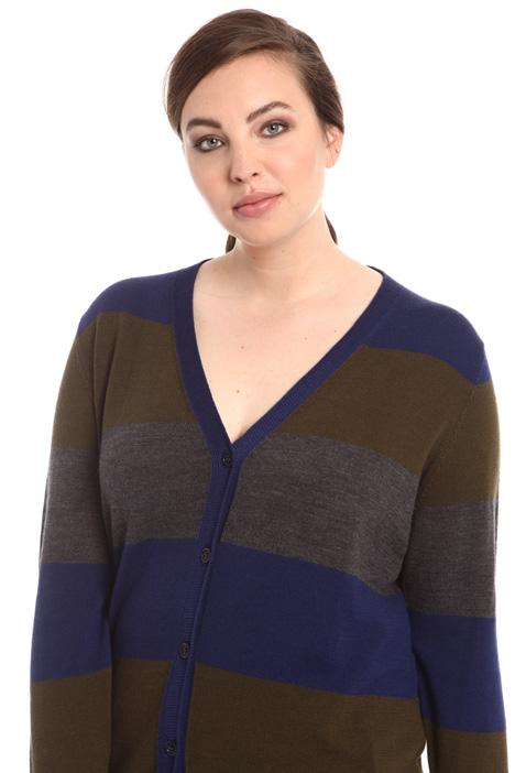 Cardigan lungo in pura lana Intrend