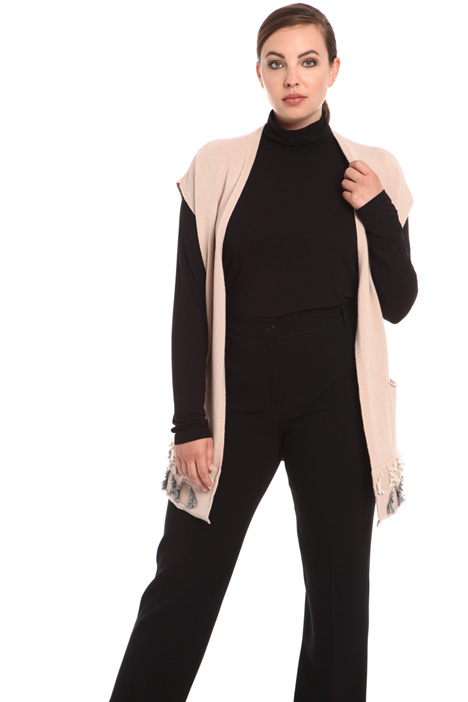 Wool and cashmere vest Intrend
