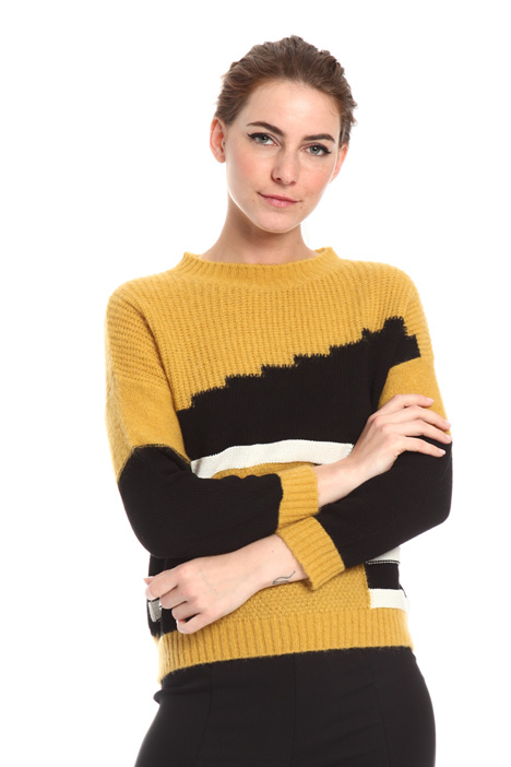 Intarsia sweater Intrend