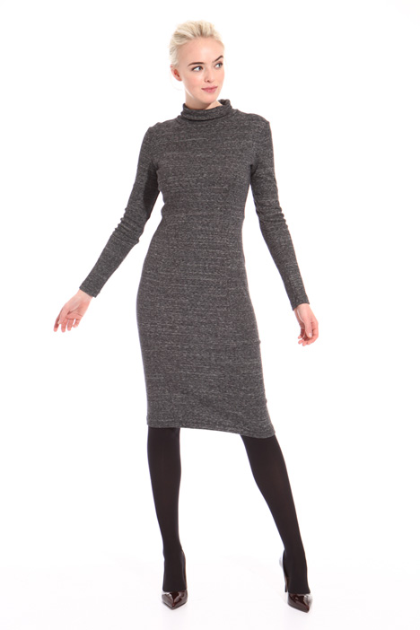 Slub knit dress Intrend