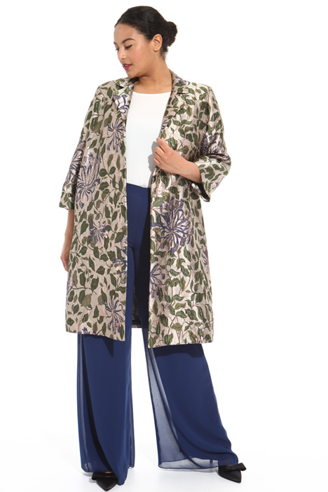 Jacquard duster coat Intrend