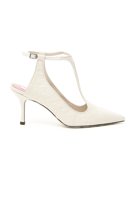 Slingback in pelle Intrend