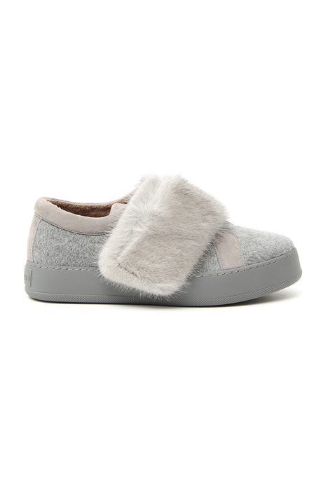 Sneakers in cashmere e lapin Intrend