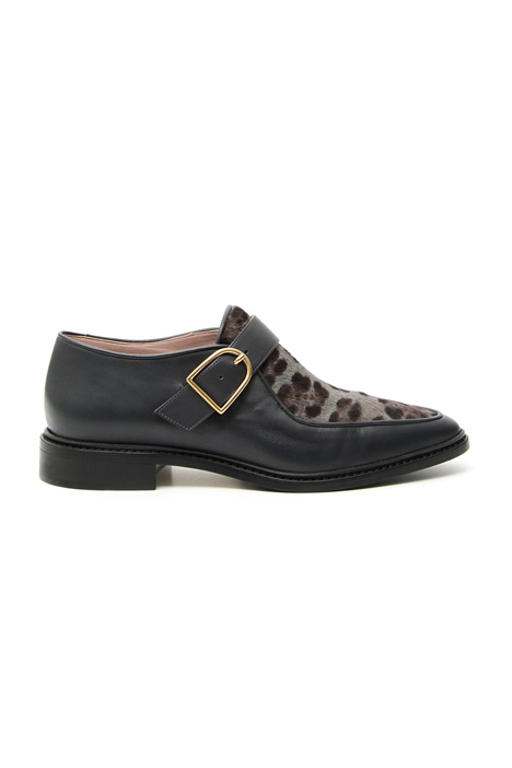 Calf hair men's shoe Intrend