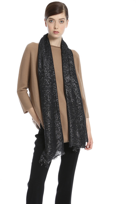 Wool and viscose scarf Intrend