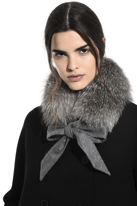 Fur and cashmere collar Intrend