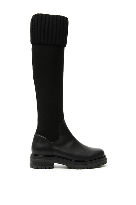 Knitted leg boots Intrend
