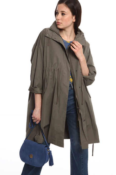 High neck parka coat Intrend