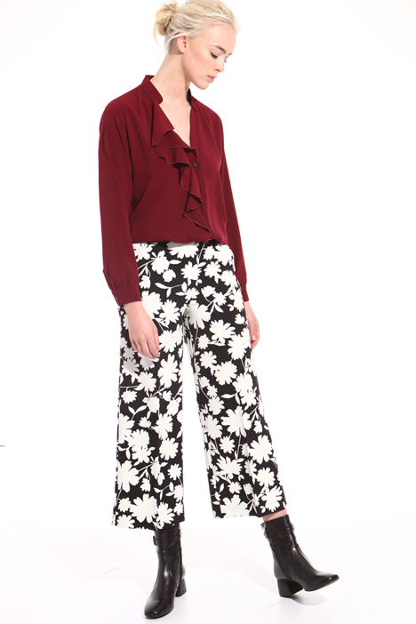 Floral print trousers  Intrend