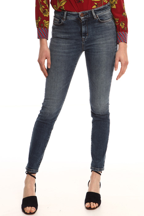 Jeans skinny in denim Intrend