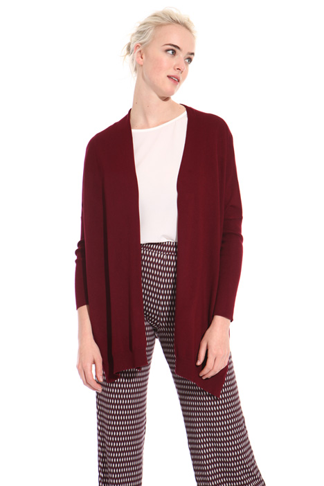 Cardigan with side slits Intrend