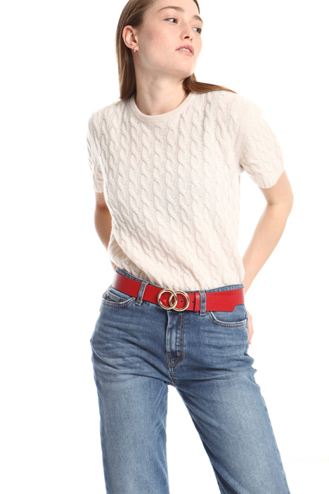 Faux-leather belt Intrend