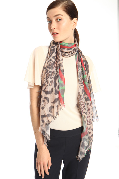 Foulard in filato di viscosa Intrend