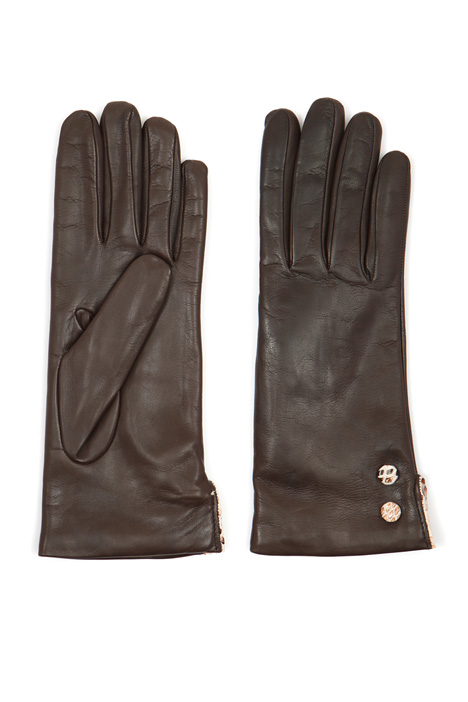 Gloves with buttons  Intrend
