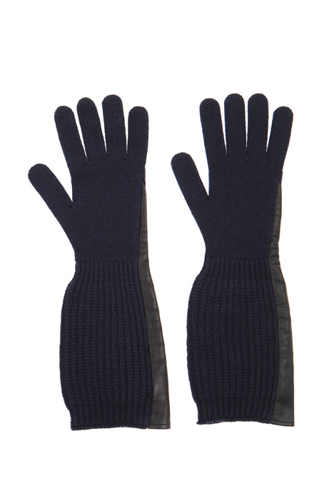 Long wool gloves Intrend