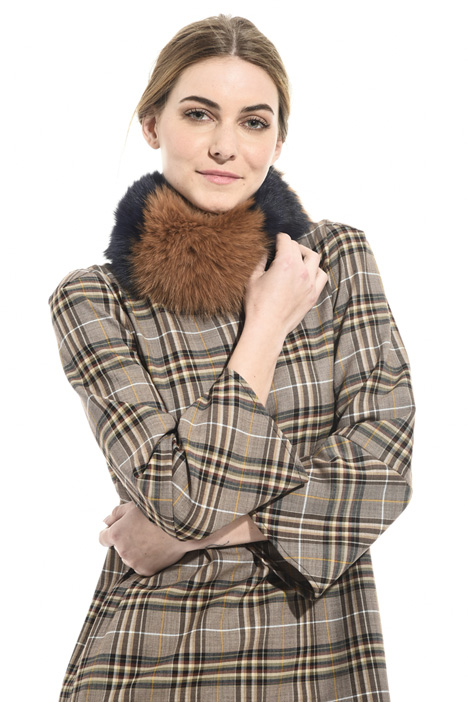 Fox fur collar Intrend