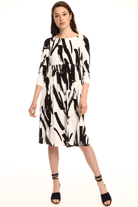 Printed jersey dress Intrend