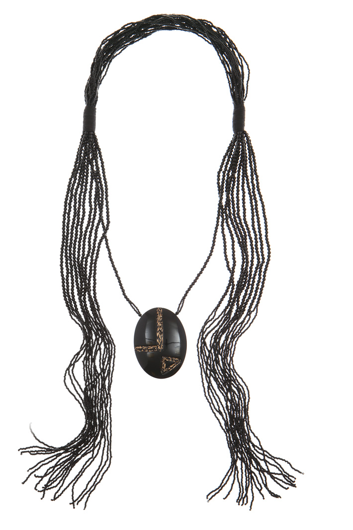 Multi-row necklace with charm Intrend